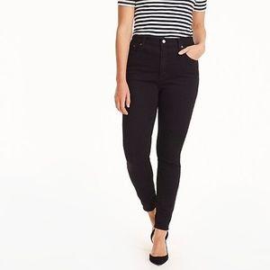 J.Crew Black High-Waist Curvy Toothpick DenimJeans